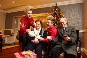 "Jedward launch ALONE Christmas Campaign ""share your presence this Christmas"""