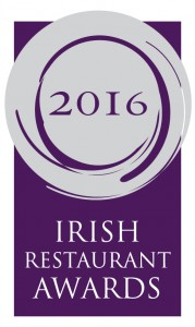 Online Nominations Now Open for The Irish Restaurant Awards 2016