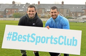 Rob & Dave Kearney launch The Irish Times Best Sports Club in partnership with NDC #bestsportsclub