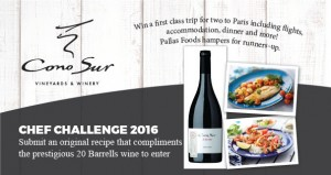 Chef Challenge 2016 launched by Cono Sur Wines
