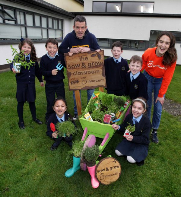Offaly Schools can now apply for free GIY and innocent drinks Sow & Grow packs