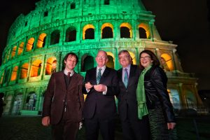 Minister Charlie Flanagan Lends A Hand To Boost Tourism From Italy