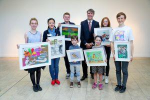 Ombudsman For Children Opens Children's Rights Art exhibition