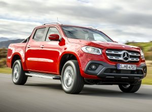 Mercedes-Benz X-Class Pickup Launched