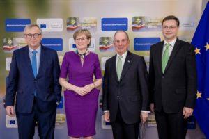 McGuinness Meets UN Special Envoy For Climate Change