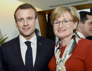 McGuiness Meets French President Ahead Of Strasbourg Debate