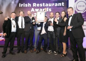 Etto Named Restaurant Of The Year At Irish Restaurant Awards