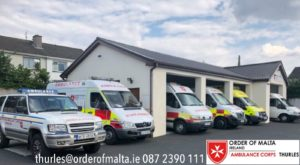 Order of Malta Thurles Ambulance Upgrade