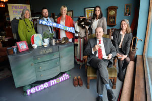 The People of Munster are encouraged to Reuse at Home, at Work and at Play this October, as more than 20 National Reuse Month Events take place throughout the Region