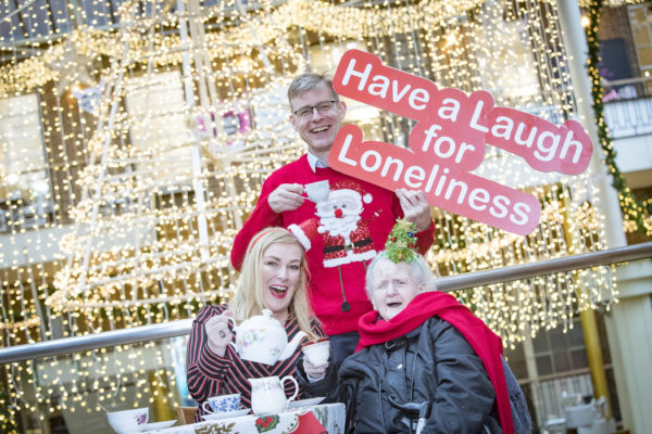 Katherine Lynch is asking the public to reach out and have a laugh with older people spending Christmas alone