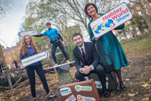 Laois Exhibitors take part in Holiday World Show's largest ever Home Holiday Pavilion